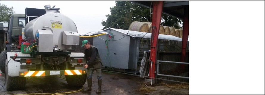 7 years in robotic milking led to mobile milking parlour