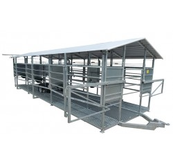 Mobile milking system recommended for  100-200 cows