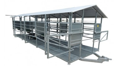 Milking systems with cooling