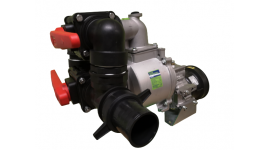 PTO water pump TP30 with flows distribution valves