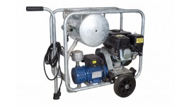 Mobile gasoline/electric vacuum unit MOOTECH-G/E140D