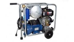 Mobile diesel/electric vacuum unit MOOTECH-D/E450L