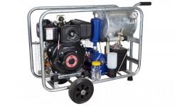 Mobile diesel vacuum unit MOOTECH-D250L