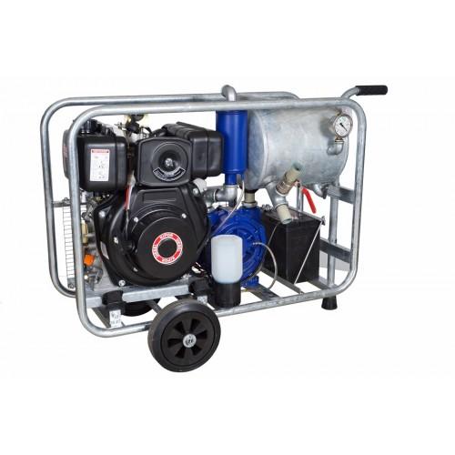 Mobile diesel vacuum unit MOOTECH-D750L