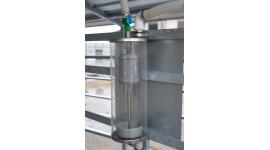 Semi-automatic washing device