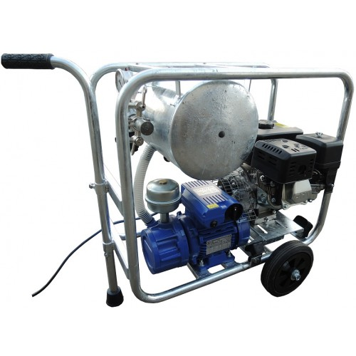 Mobile gasolinel/electric vacuum unit MOOTECH-G/E200D