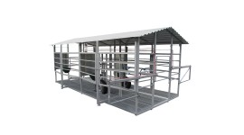 Mobile milking parlour MOOTECH-4