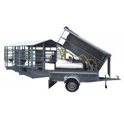 Mobile milking system recommended for more than  50 cows