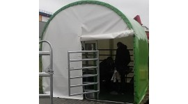 Tented shelter