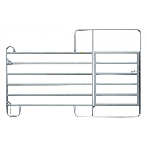 Fence Panel with gates 3 m