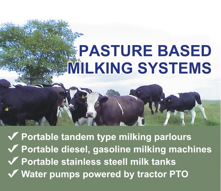 PASTURE BASED MILKING SYSTEMS